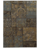 Oriental Weavers Heritage 1336h Charcoal / Blue Area Rug