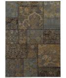 Oriental Weavers Heritage 1336H Charcoal / Blue Area Rug