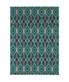Oriental Weavers Highlands 6627b Blue Area Rug
