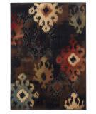 Oriental Weavers Hudson 4874b Black Area Rug