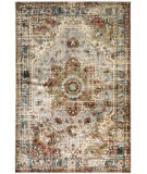 Oriental Weavers Juliette 205E3 Grey - Rust Area Rug