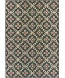 Oriental Weavers Latitude 1904k Grey - Orange Area Rug