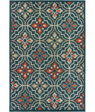 Oriental Weavers Latitude 709b3 Blue - Orange Area Rug