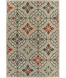 Oriental Weavers Latitude 709y3 Grey - Orange Area Rug
