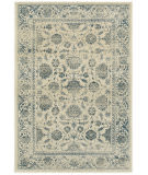 Oriental Weavers Linden 7909a Ivory - Blue Area Rug
