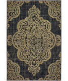 Oriental Weavers Marina 5929K Black - Tan Area Rug