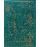 Oriental Weavers Revival 3690d Teal Area Rug