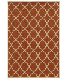 Oriental Weavers Riviera 4770D Orange Area Rug