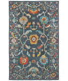 Oriental Weavers Zahra 75501 Blue - Gold Area Rug