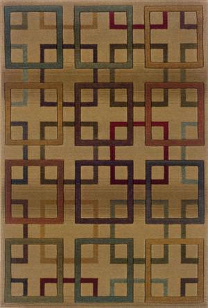 Oriental Weavers Genesis 096J1 J1 Area Rug