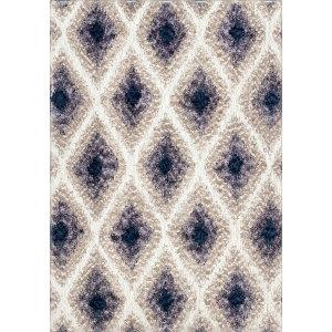 Palmetto Living Cotton Tail Ikat Diamond Multi Area Rug