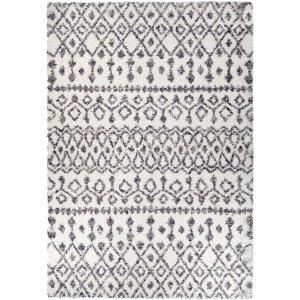 Palmetto Living Cotton Tail Nardik Soft White Area Rug