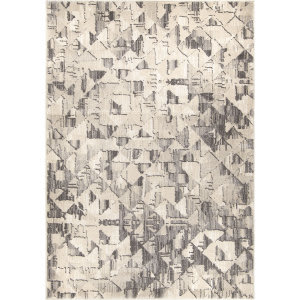 Palmetto Living Illusions Beckett Soft White Area Rug