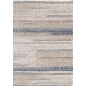 Palmetto Living Mystical 7017 Modern Motion Muted Blue Area Rug