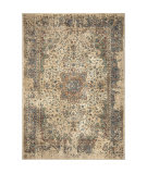 Palmetto Living Alexandria 4510 Distressed Regal White Area Rug