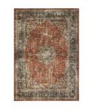 Palmetto Living Alexandria 8908 Regal Red Thatch Area Rug