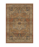 Palmetto Living Aria 8203 Heriz Medallion Rust Area Rug