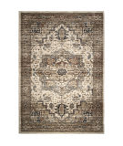 Palmetto Living Aria 8204 Heriz Medallion Off White Area Rug