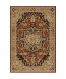 Palmetto Living Aria Heriz Medallion Rouge Area Rug