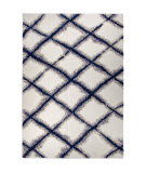 Palmetto Living Cotton Tail 8308 Line Trellis White Area Rug