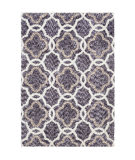 Palmetto Living Cotton Tail JA05 Four Leaf Clover Grey Area Rug