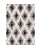 Palmetto Living Cotton Tail JA09 Ikat Diamond Multi Area Rug