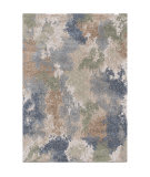 Palmetto Living Mystical 7014 Dreamy Muted Blue Area Rug