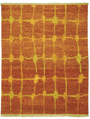 Private Label Oak 148223 Red Area Rug