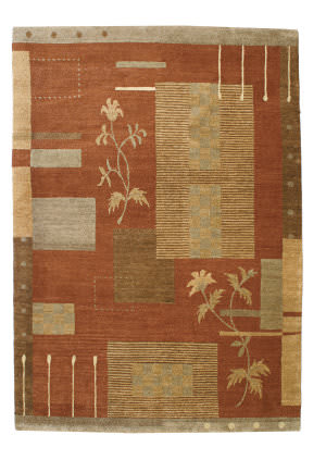 Private Label Oak 148226 Red Area Rug