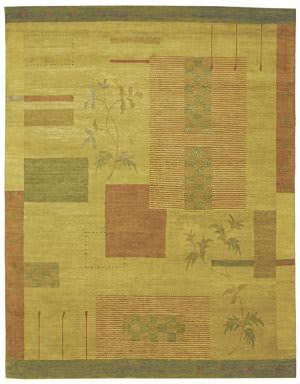 Private Label Oak 148227 Yellow Area Rug