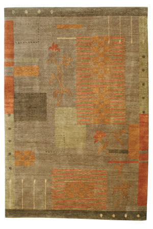 Private Label Oak 148407 Brown Area Rug