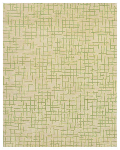 Private Label Oak 148231 Green Area Rug