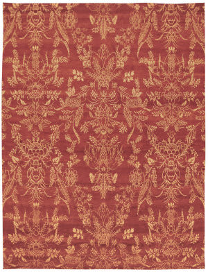 Private Label Oak 148243 Red Area Rug