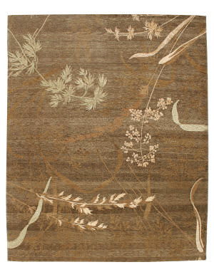 Private Label Oak 148414 Brown Area Rug