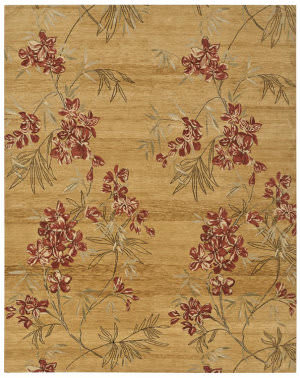 Private Label Oak 148304 Brown Area Rug