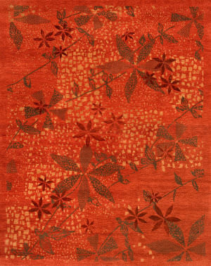 Private Label Oak 148498 Red Area Rug