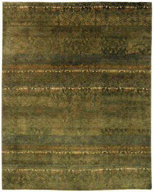 Private Label Oak 148329 Green Area Rug
