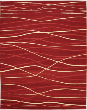 Private Label Oak 148353 Red Area Rug