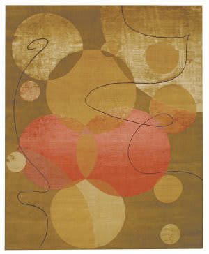 Private Label Oak 148371 Brown Area Rug