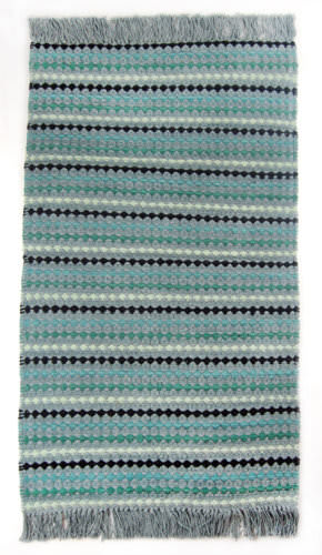 Ragtime Diamond 180325 Teal Area Rug