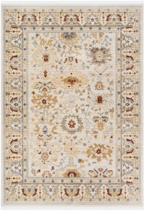Ralph Lauren Power Loomed Lrl1282r Beige - Rust Area Rug
