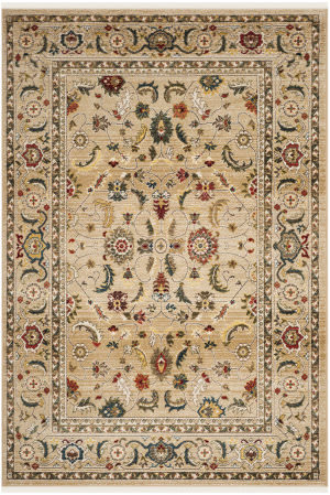 Ralph Lauren Power Loomed Lrl1299e Beige - Multi Area Rug
