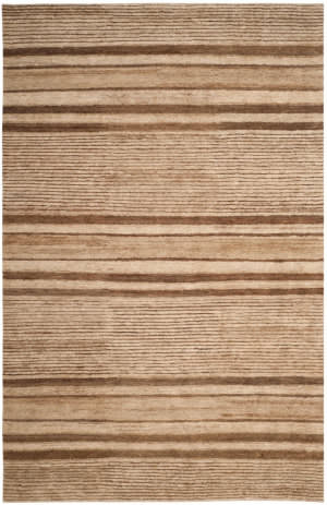 Ralph Lauren Trade Route Stripe Rlr5118a Tobacco Area Rug