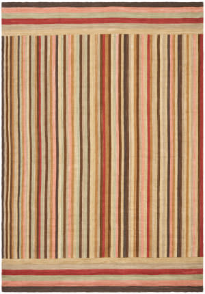 Ralph Lauren Martine Stripe RLR6016A Harvest Area Rug