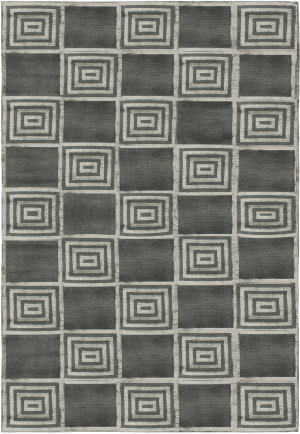 Ralph Lauren Alistair Tiles RLR6671C Platinum Area Rug