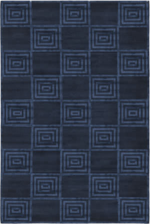 Ralph Lauren Alistair Tiles RLR6671D Saphire Area Rug