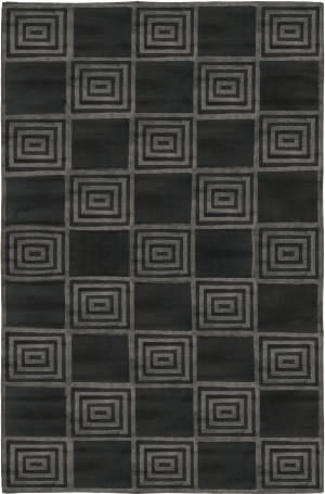 Ralph Lauren Alistair Tiles RLR6671E Onyx Area Rug