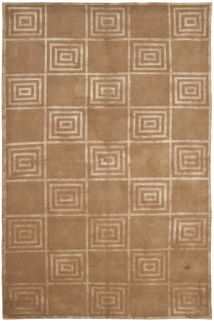 Ralph Lauren Alistair Tiles RLR6671F Truffle Area Rug