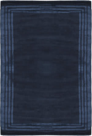 Ralph Lauren Ellington Border Rlr6672d Saphire Area Rug