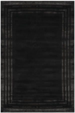 Ralph Lauren Ellington Border RLR6672E Onyx Area Rug